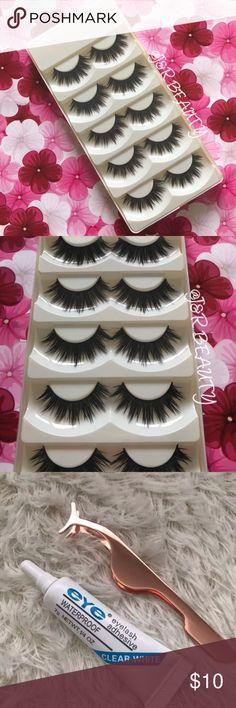 ee4c5f3c829 ICONIC Eyelashes 5 Pairs +$2 Add on eyelash Applicator +$3 Add on eyelash  glue