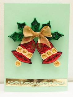 Quilling Christmas CardChristmas