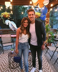 Jordan Rodgers and JoJo Fletcher Photos @ Reality TV World Cute Couple Selfies, Cute Couple Pictures, Couple Pics, Jojo Fletcher Jordan Rodgers, Light Brown Ombre Hair, Jojo And Jordan, Joelle Fletcher, Sims, Stylish Couple