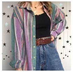 Tokyo Street Fashion, 80s Fashion, Look Fashion, Fashion Outfits, Hijab Fashion, Fashion Vintage, Retro Outfits, Cute Casual Outfits, Vintage Outfits