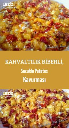 Kahvaltılık Biberli Sucuklu Patates Kavurması Leziz Yemeklerim receta real potato al horno asadas fritas recetas diet diet plan diet recipes recipes Beef Recipes, Asian Recipes, Cooking Recipes, Healthy Recipes, Ethnic Recipes, Potato Recipes, Delicious Dinner Recipes, Yummy Food, Yummy Recipes