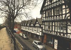 Because Chester's city centre is surrounded by Roman walls.