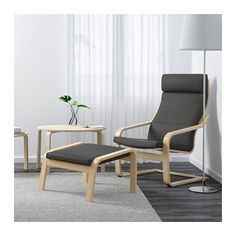 POÄNG Reposapiés - Finnsta gris - IKEA