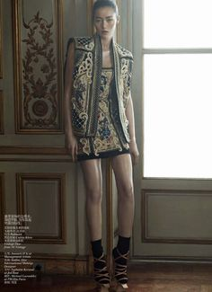 ORIENTAL TALES  Vogue China  Ph. Karim Sadli  Fashion Editor – Alastair McKimm  Hair - Yannick D'Is (Paris: Management + Artists, New York: Management + Artists) | Makeup – Yadim