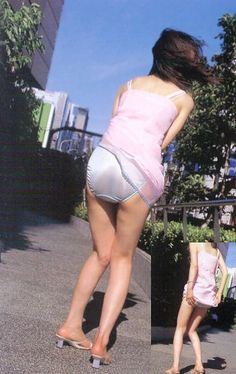 Does have Asian street tampon upskirt