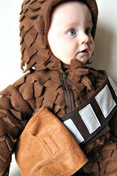 Larissa Another Day Baby Chewbacca Costume. Toddler ...  sc 1 st  Pinterest & Handmade toddler chewbacca costume. | Halloween | Pinterest ...