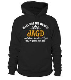 Jagd (Hunting) T-shirt  #gift #idea #shirt #image #funny #campingshirt #new