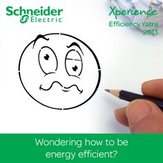 Wondering how to be energy efficient? Meet us in your city soon and discover new solutions you can use to optimize cost and improve efficiency. Find out all about this one of a kind event here www.schneider-electric.com/xe50city/in