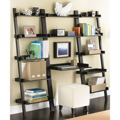 Java Linea Leaning Desk Solution. Small desk for small space.