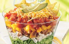 One Bowl Chicken BLT Taco Salad - I would minus the bacon but that's just me :)