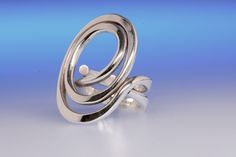 Anna Greta Eker for Design Plus silver ring by KoruJewelleryCo on Etsy
