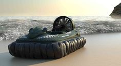 This is the hovercraft you've been dreaming of.