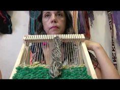 Weaving Art, Tapestry Weaving, Rug Hooking, Loom Knitting, Creative Crafts, Basket Weaving, Handmade Crafts, Make It Yourself, Youtube