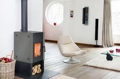 #Woodstove #fireplace - Harrie Leenders Boxer Black