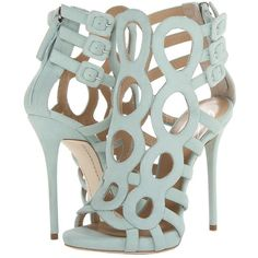 Giuseppe Zanotti found on Polyvore.  Any Wedgewood Blue shoe will look gorgeous with our CAbi Spring 14 collection.