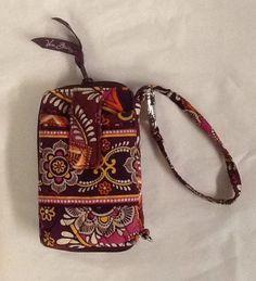 fc2ae95d0c Vera Bradley Safari Sunset Wristlet Phone Case Wallet Zip Around ID Holder   VeraBradley  Wristlet