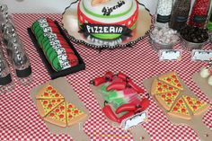 Pizza Birthday Party Ideas   Photo 31 of 50   Catch My Party