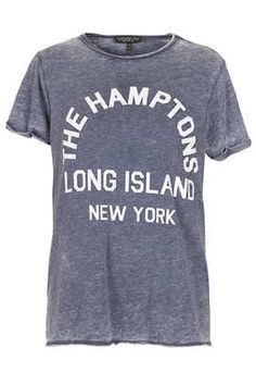 Tall Hamptons Burnout Tee Topshop