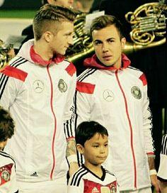 Mario, Thomas Muller, Dfb Team, Munich, Real Madrid, Chef Jackets, Germany, Stars, Marco Reus
