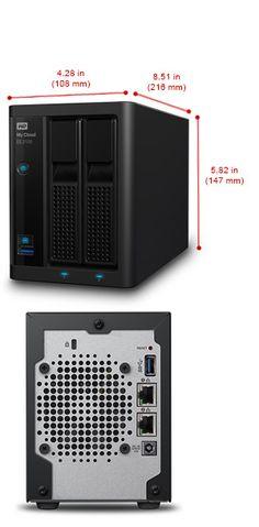 My Cloud EX2100 - Network Attached Storage