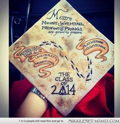 My friend's graduation cap