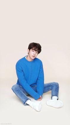 So cute of him ❤ Nam Joo Hyuk<br> Nam Joo Hyuk Wallpaper Iphone, Nam Joo Hyuk Lockscreen, Kdrama Wallpaper, Nam Joo Hyuk Cute, Nam Joo Hyuk Lee Sung Kyung, Jong Hyuk, Korean Male Actors, Korean Celebrities, Asian Actors