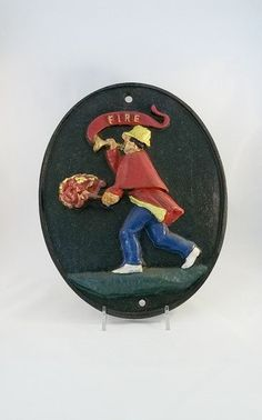 Vintage Reproduction Fire Mark