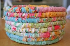 Easter basket - this would be super cute made from fabrics of favorite outfits over the years...