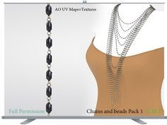 Chains and beads Pack 1 Full Permission