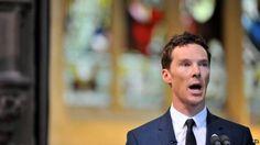 Benedict Cumberbatch reads poem at Richard service March 26 2015