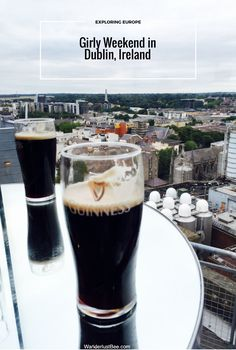 A girly weekend in Dublin, Ireland. I went with my sister and we visited the top sights on the tourist bus, drank Guinness, went shopping and sampled different cocktail spots and foodie joints. read more here...