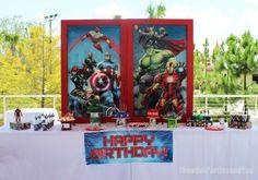 Avengers Birthday Party Ideas | Photo 1 of 37