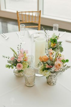 Crocker Art Museum Wedding Photos - table setting with gold chivari chairs - Sarah Maren Photography - Sacramento, California