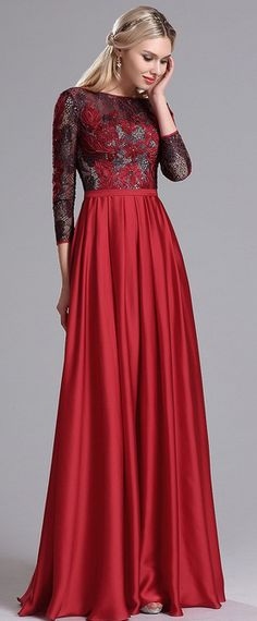 eDressit Red Lace Dress