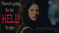 Ann_monigheanruadh @MoNigheanRuadh   Best get out of Claire's way