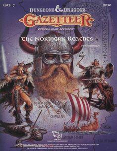 GAZ7 The Northern Reaches (Basic) - Wizards of the Coast | D&D Basic | Maps/Terrain/Game Aids | D&D Basic | RPGNow.com