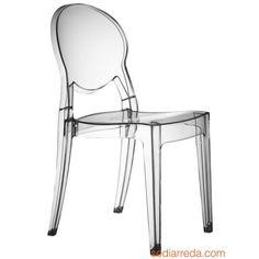 KARTELL - sedie Victoria Ghost Kartell trasparenti Starck | Philippe ...