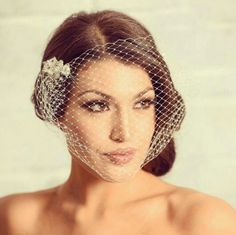 Birdcage Veils at David's Bridal