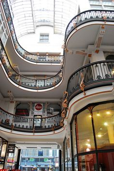 nice lines, Barton Arcade, Deansgate, Manchester by philra08, via Flickr