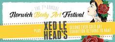 7e Festival de Norwich Body Art 15 Août - 16 Août 2015