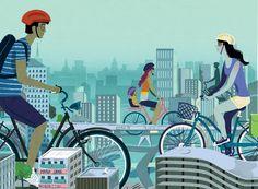 Andar de bicicleta ajuda a diminuir a emissão de poluentes e garante uma vida mais saudável para quem pedala. Se você ainda não aderiu ao movimento, conheça alguns serviços que vão encorajá-lo a explorar a cidade de novos ângulos