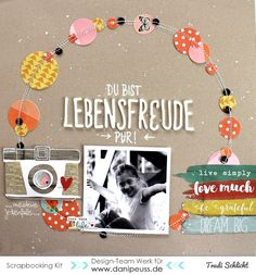 Layout mit dem Maikit von Trudi Schlicht für www.danipeuss.de #danipeuss #scrapbooking #layout #dpmaikit16
