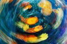 Flower. blur.