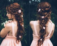 Probably my favourite, but my hair is not that long, so don& know Medieval Hairstyles, Boho Hairstyles, Formal Hairstyles, Pretty Hairstyles, Wedding Hairstyles, Fairy Hairstyles, Fantasy Hairstyles, Wedding Hair And Makeup, Bridal Hair