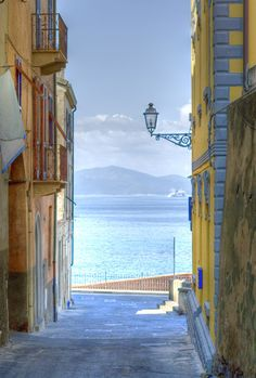 Piombino ~ lies on the border between the Ligurian Sea and the Tyrrhenian Sea, Tuscany, Italy