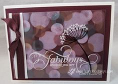 Bokeh technique, Stamp & Scrap with Frenchie: January Free PDF with qualified order