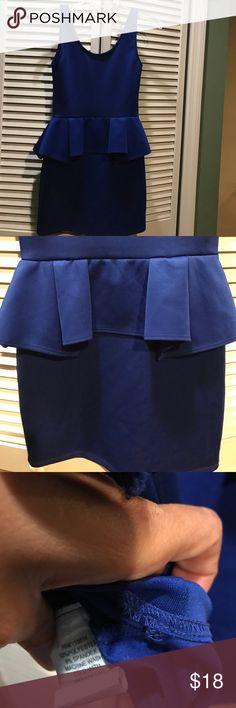 Small blue spandex dress See pics no name no name Dresses Midi