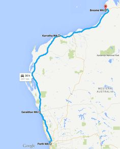 How long does it take to drive from Broome to Perth, Western Australia? Western Australia, Australia Travel, Cool Places To Visit, Places To Go, Australian Road Trip, Australia Holidays, Road Trip Planner, Relief Society, Adventure Awaits