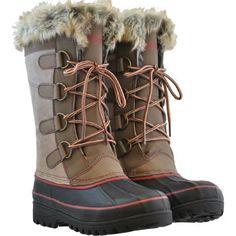 Khombu® Ladies' Winter Boot-Tan