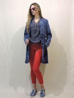 Spring Collection, Denim, Jackets, Fashion, Down Jackets, Moda, Fashion Styles, Fashion Illustrations, Jacket